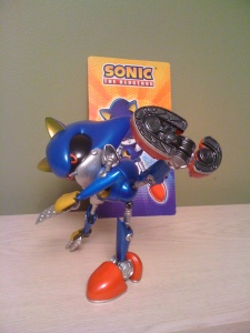 Metal Sonic 10 inch figure by Jazwares